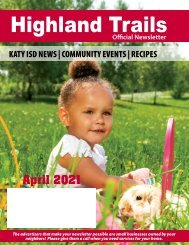 Highland Trail April 2021