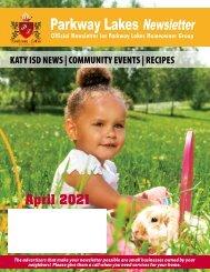 Parkway Lakes April 2021