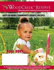 Woodcreek April 2021