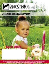 Bear Creek April 2021