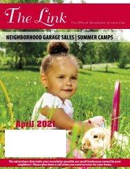 Lone Oak April 2021