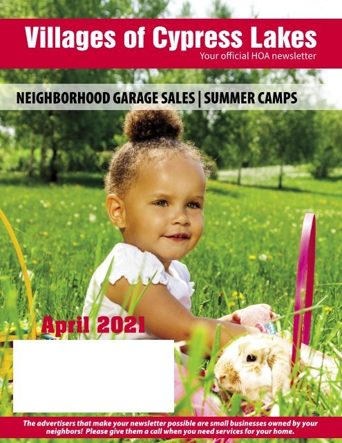 Villages of Cypress Lakes April 2021