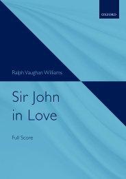 R. Vaughan Williams - Sir John in Love