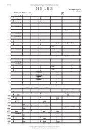 MELEE - Score
