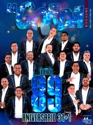 La Gorda Magazine Año 7 Edición Número 74 Abril 2021 Portada: Banda 89