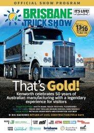 Brisbane Truck Show Program