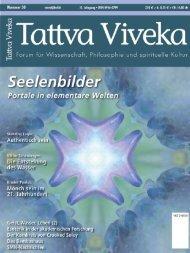 Kostenloses Probeheft als PDF - Tattva Viveka Magazin