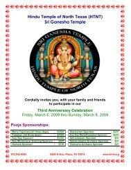 Hindu Temple of North Texas (HTNT) Sri Ganesha Temple