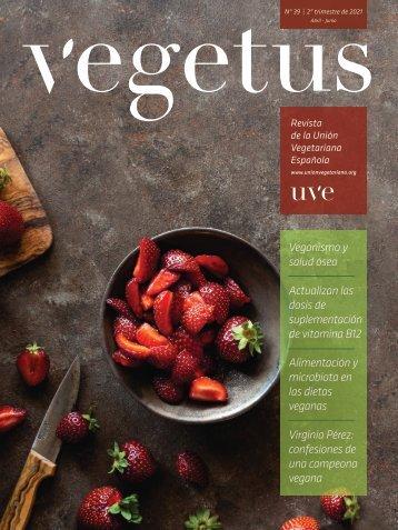 Revista Vegetus nº 39 (Abril - Junio 2021)