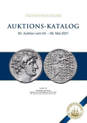 93. Auktion - Münzen & Medaillen - Emporium Hamburg