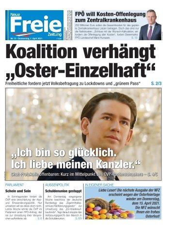 """Koalition verhängt """"Oster-Einzelhaft"""""""