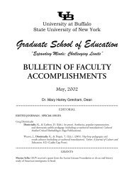 """""""Expanding Minds; Challenging Limits"""" BULLETIN OF FACULTY ..."""