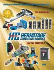 line card - Hermitage Automation