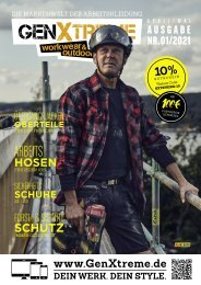GenXtreme - Werk & Style Magazin 2021 Nr. 1 Frühling