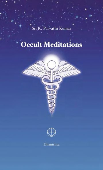 Occult Meditations - The World Teacher Trust