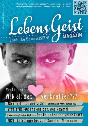 Lebensgeist-Magazin Nr 7 • 4/21