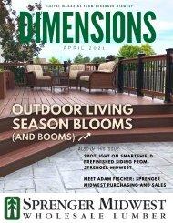 April 2021 Dimensions Magazine