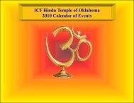 May 2010 Vikriti - Hindu Temple of Oklahoma City