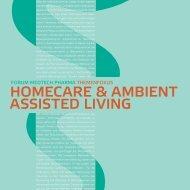 homecare & ambient assisted living - Forum MedTech Pharma eV