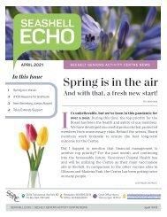 Seashell Echo | April 2021