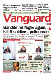 02042021 - Bandits hit Niger again, kill 6 soldiers, policeman