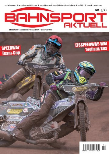 Bahnsport aktuell Ausgabe 04/2021