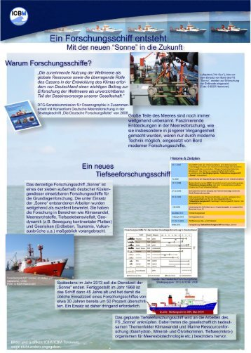Forschungsschiff in Planung - ICBM