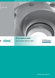 IT as solid as steel - ABAS Software AG