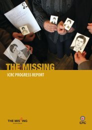 """""""missing person""""? - International Committee of the Red Cross"""