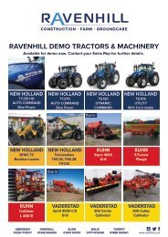 Ravenhill Monthly Featured Machines A4 April 2021 NO BLEED