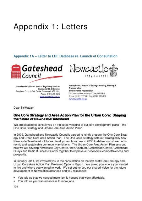 Appendix 1 2 Newcastle City Council