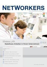 Kundenzeitschrift NETWORKERS 0110 (1.5 MB) - Scaltel AG