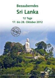 Sri Lanka - Westfalen-Urlaubsreisen