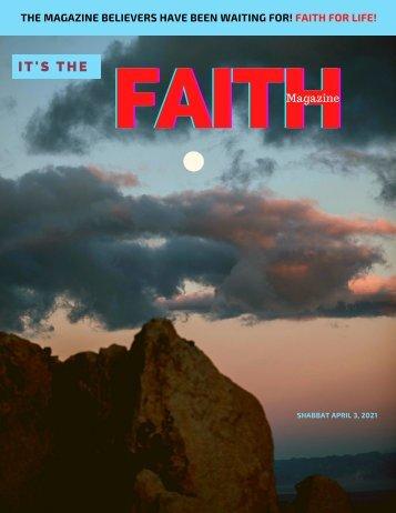 It's the faith magazine - Compassion - Shabbat issue April 3 2021