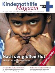 Kindernothilfemagazin 1/2005