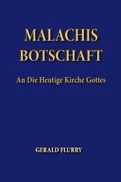 malachis botschaft - The Philadelphia Church of God