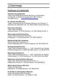 Informationen zur Wohnungssuche - Schongau