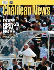 Chaldean News – April 2021