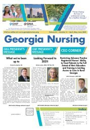 Georgia Nursing - April 2021