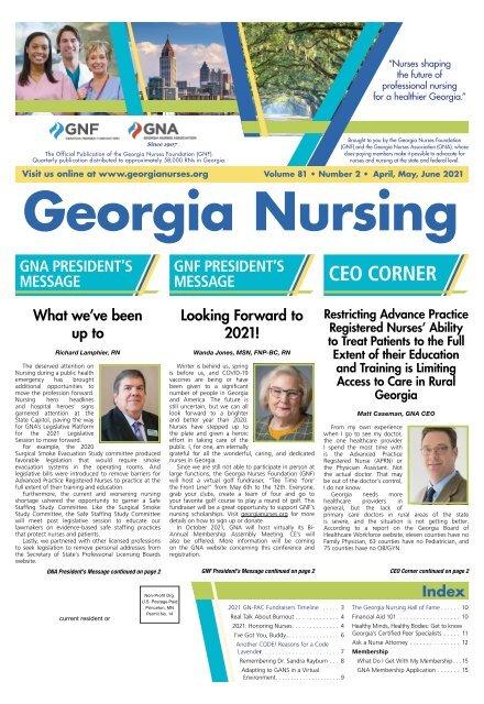 Georgia Nursing - April 2021