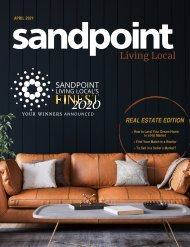 April 2021 Sandpoint Living Local