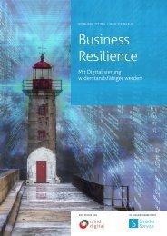 Business Resilience – Mit Digitalisierung widerstandsfähiger werden