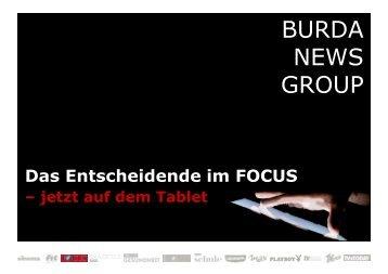 Tablet-Besitzer - FOCUS MediaLine