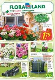 Floraland + Ihr bbk hagebaumarkt | KW 14