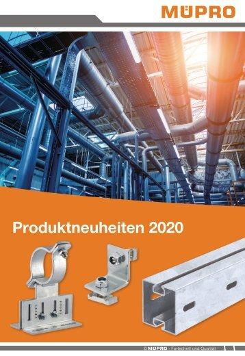 MÜPRO Neuheiten 2020 DE