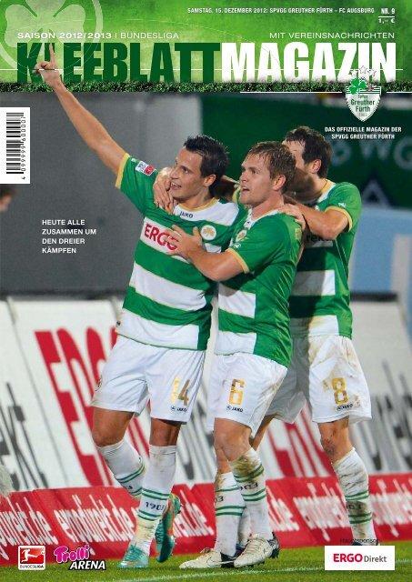 Nr. 9 FC Augsburg 15.12.2012 - SpVgg Greuther Fürth