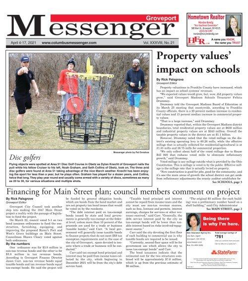 Groveport Messenger - April 4th, 2021