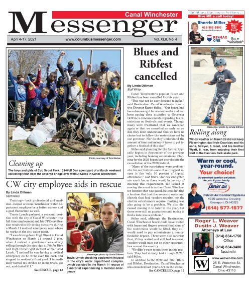 Canal Winchester Messenger - April 4th, 2021