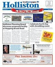Holliston April 2021