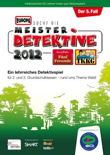 Der 5. Fall - EUROPA sucht die Meisterdetektive